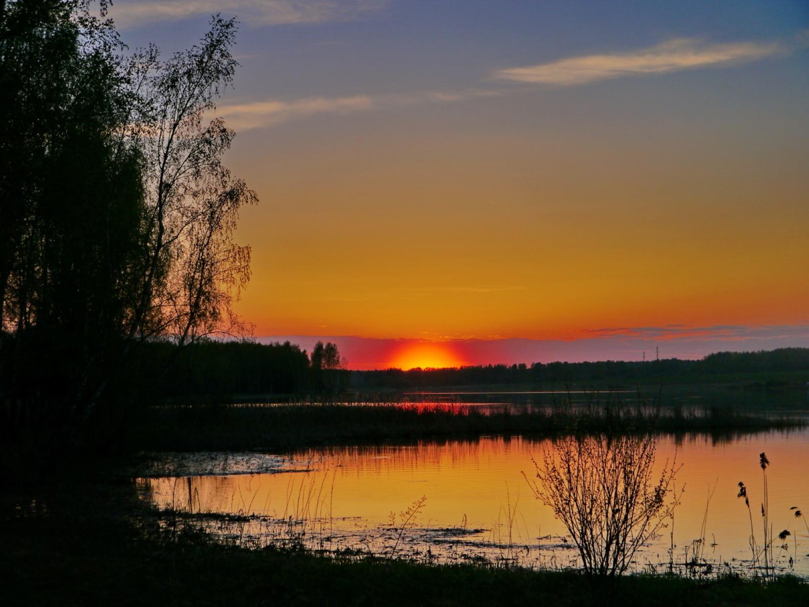 Закат в Ривьере