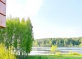 Вид на реку с балкона