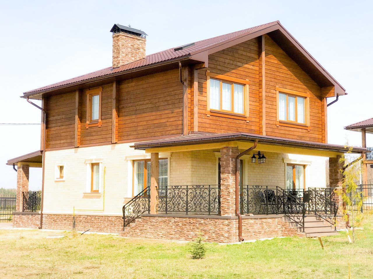 Дом комбинированный №2 на участке 15 соток